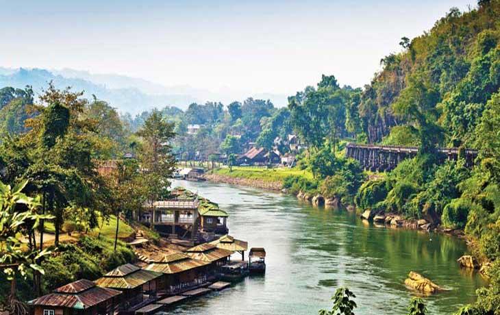 Река Квай в Тайланде