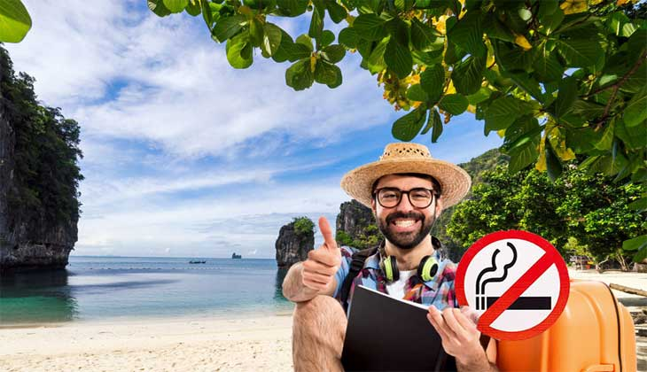 На пляжах Паттайи запретили курение
