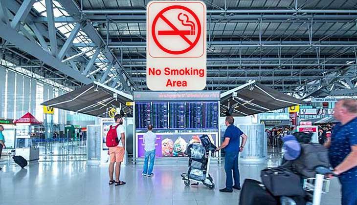 Запрещено курение в аэропортах Тайланда